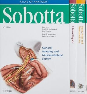 Sobotta Atlas of Human Anatomy, Package Latin Nomenclature, 16th Edition