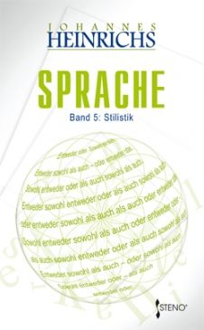 Sprache  Band 5: Stilistik