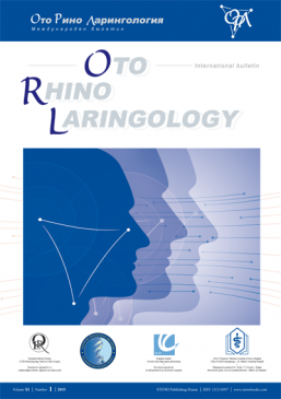 Oto-Rhino-Laringology - International bulletin